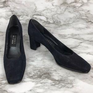 Vintage Stuart Weitzman block heel flats size 6.5